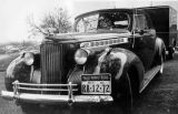 Car and trailer used by the Yale Puppeteers while touring the country.  The car has a 1940...