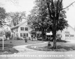 The Old State Tavern in Kennebunk, Maine, presumably a location where the Yale Puppeteers' put on...