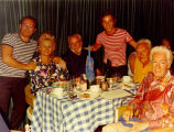 Forman Brown, Lucien LaRiviere and others on a Caribbean cruise in the 1960s.
