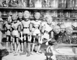 Undressed puppets in puppet workshop at Turnabout Theatre in 1946.