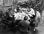 Turnabouters Dorothy Neumann, Harry Burnett, Richard Brandon and Forman Brown, with Charles...