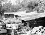 House being constructed for Forman Brown in Mandeville Canyon in 1951.